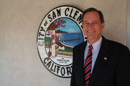 Joe Anderson served on the San Clemente City Council from 1994 to 2010. File photo.