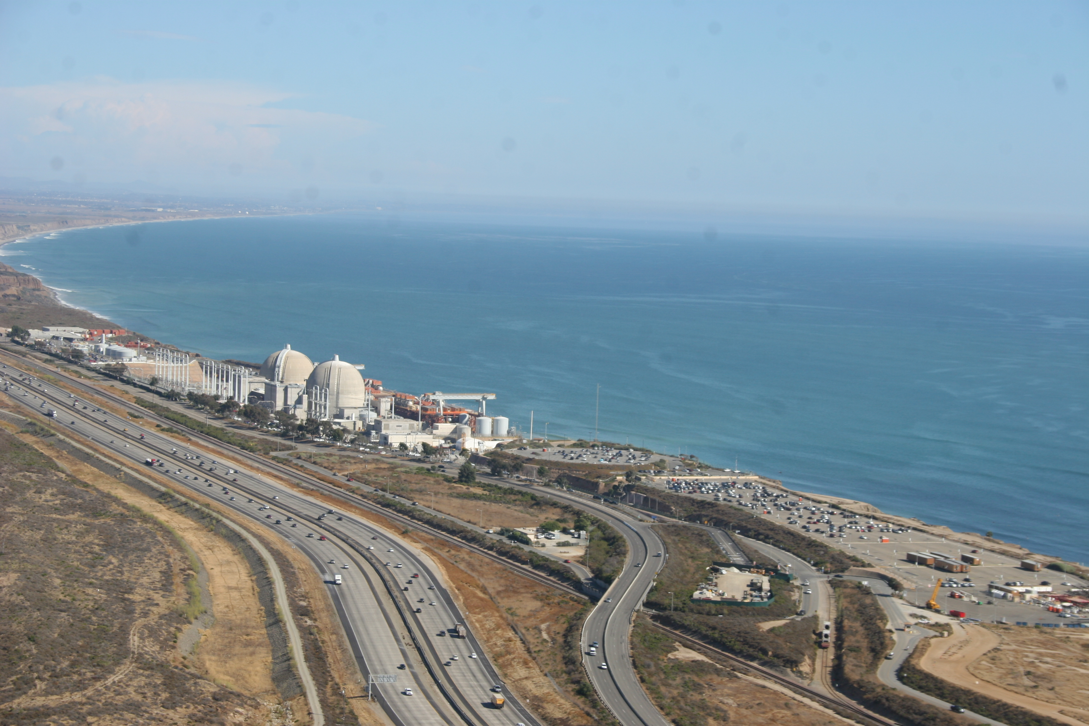 An aerial view of the San Onofre Nuclear Generating Station. Photo: File