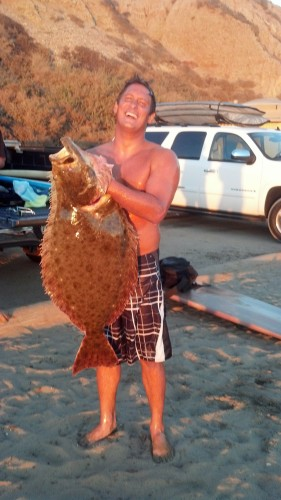 Kitakis Reels In Unique Catch At San Onofre San Clemente