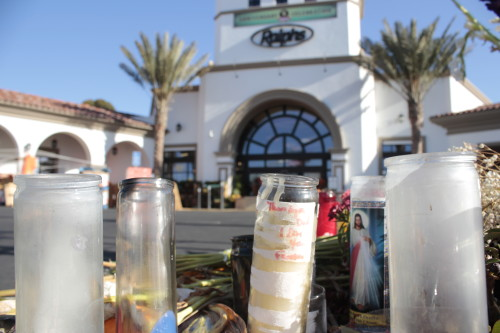 Memorials, like this one for San Clemente resident Paul Michelena,  became a too-familiar site around San Clemente in 2013. The city had a number of fatal automobile incidents over the course of the year. Photo by Andrea Papagianis