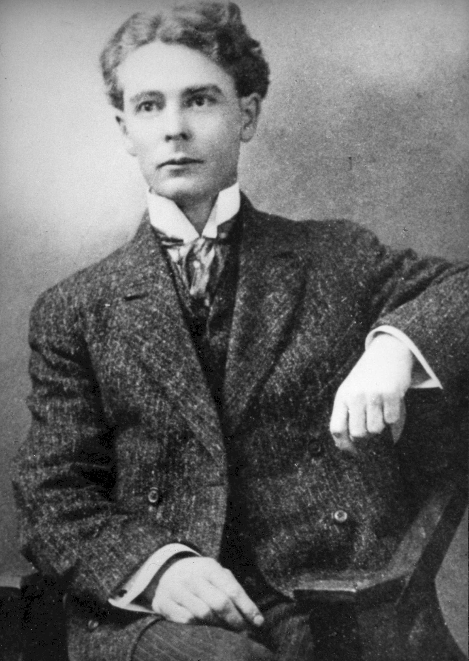 """Ole Hanson, shown here in his younger days, served as Mayor of Seattle before coming to international fame as a result of labor unrest in the city. He later made his way to California to fulfill a dream of creating a """"Spanish Village."""" Photo courtesy the San Clemente Historical Society"""