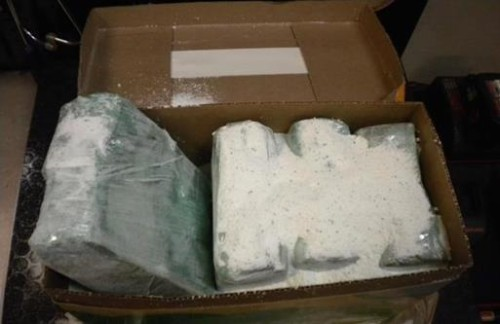 Border Patrol agents seized nearly $300,000 in smuggled cash Thursday. Courtesy photo