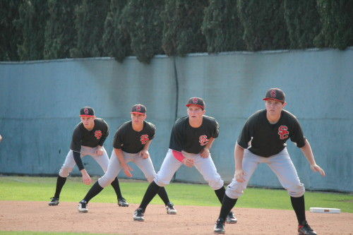 The San Clemente baseball team is off to a 5-3 start to their season. Photo by Steve Breazeale