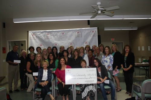 Members of the San Clemente Woman's Club recently donated more than $18,000 to local charities. Courtesy photo.