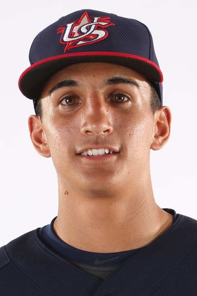 Lucas Herbert. Photo: USA Baseball
