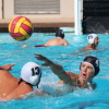 Sophomore attacker Sean Edwards passes the ball during a San Clemente water polo practice. Photo: Steve Breazeale