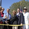 San Clemente city officials cut the ribbon at last week's expanded recycled water plant  Sept. 18. Photo: Brian Park