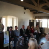 Six City Council Candidates debated North Beach issues at the Ole Hanson Beach Club Thursday. Photo: Jim Shilander