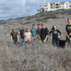 Advanced Placement Environmental Science students from San Clemente High School joined their peers from other area schools on Nov. 15 in a friendly competition to enhance habitat for an endangered species at the Dana Point Headlands. Photo: Courtesy CNLM