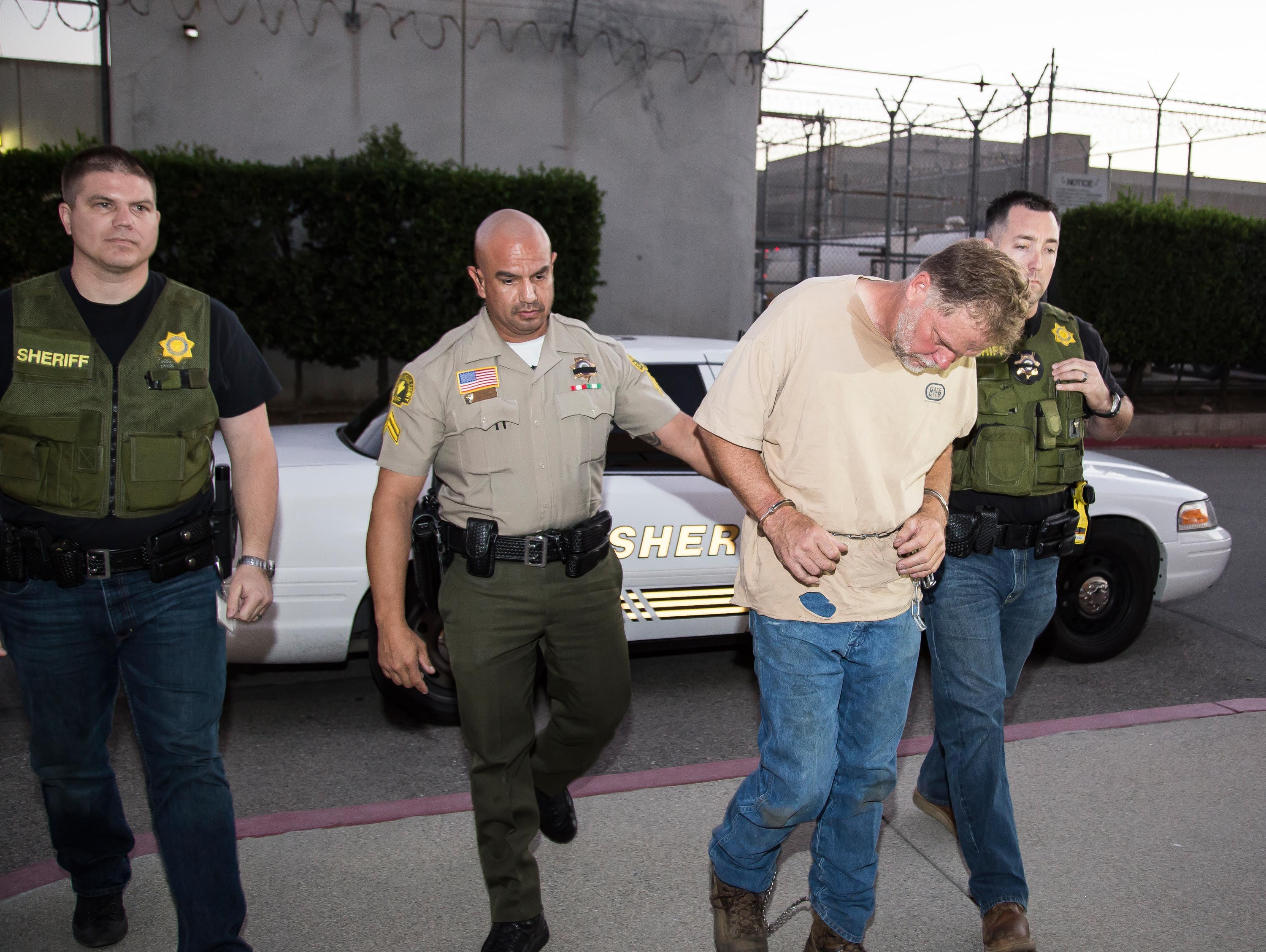 "San Bernardino County Sheriff's Department Officers arrested Charles ""Chase"" Merritt of Homeland for the murder of the McStay in Nov. 2014. Photo: San Bernardino Sheriff's Department"
