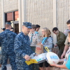 San Clemente Military Family Outreach gifted approximately 1,000 Camp Pendleton military families with free Thanksgiving dinners on Monday at their annual Turkey Giveaway event. Photo: Steve Sohanaki