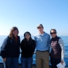 San Clemente Ocean Festival executive director Peggy Vance, current SCHS student Olivia Orea, Ocean Institute instructor Martin Purdy and SCHS Marine Biology teacher Michelle Brislen. Photo: Courtesy Peggy Vance