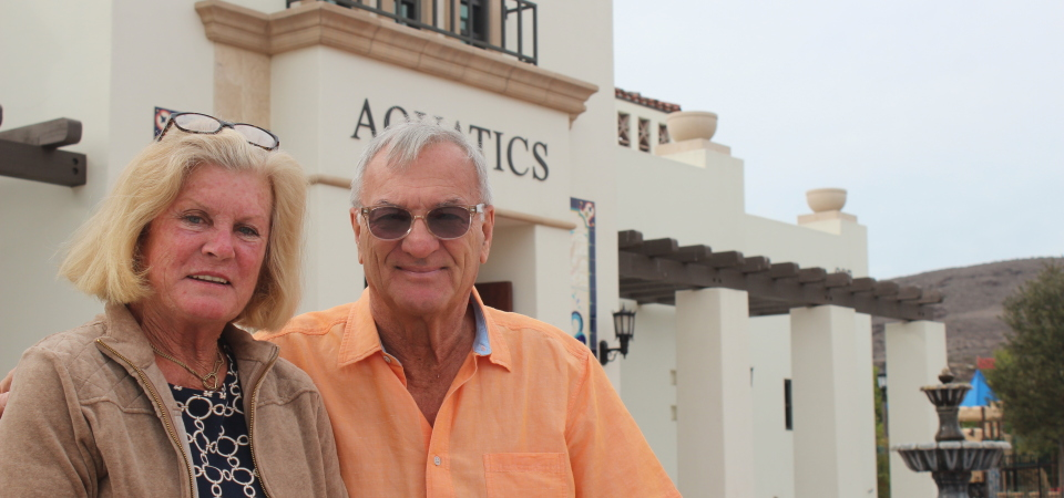 Jim Evert, who just completed his term on City Council, and his wife Sharyn, came to San Clemente 17 years ago and have made themselves part of the city. This month, the couple will be moving closer to family in Florida. Photo: Jim Shilander