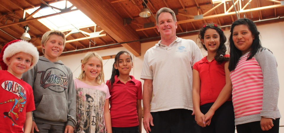 Boys & Girls Club of the South Coast Area director Kent Campbell came to San Clemente almost sight-unseen. Now, more than 30 years later, he's retiring after made a difference in thousands of children's lives. Photo: Jim Shilander
