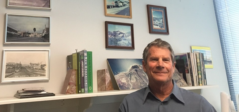 Jim Holloway was hired as San Clemente's Community Development Director 28 years ago and tasked with guiding the city through a period of significant growth. Holloway retired last week. Photo: Jim Shilander