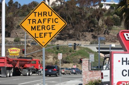 Burger Stop is just one of the surrounding San Clemente businesses that will be impacted by the final phase of the Orange County Transportation Authority's Interstate 5 widening project, which will demolish the current Avenida Pico overpass and replace it with a new bridge. Photo: Allison Jarrell