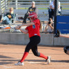 San Clemente senior Jordyne Prussak went 2-4 with four RBI at the plate and earned a win in the circle in the Tritons 8-3 victory over Dana Hills on March 24. Photo: KDahlgren Photography