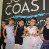 South Coast Conservatory students (L to R) Lulu De Leon, Lexi Blades, Avalon Shill, Lindsey Blades and Kara Dresser are among the more than 150 youth and adults learning dance at the conservatory's new San Clemente location. Photo: Jim Shilander