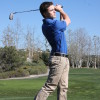 Sammy Schwartz recorded a hole-in-one at the Estancia Tournament on April 20. Photo: Steve Breazeale