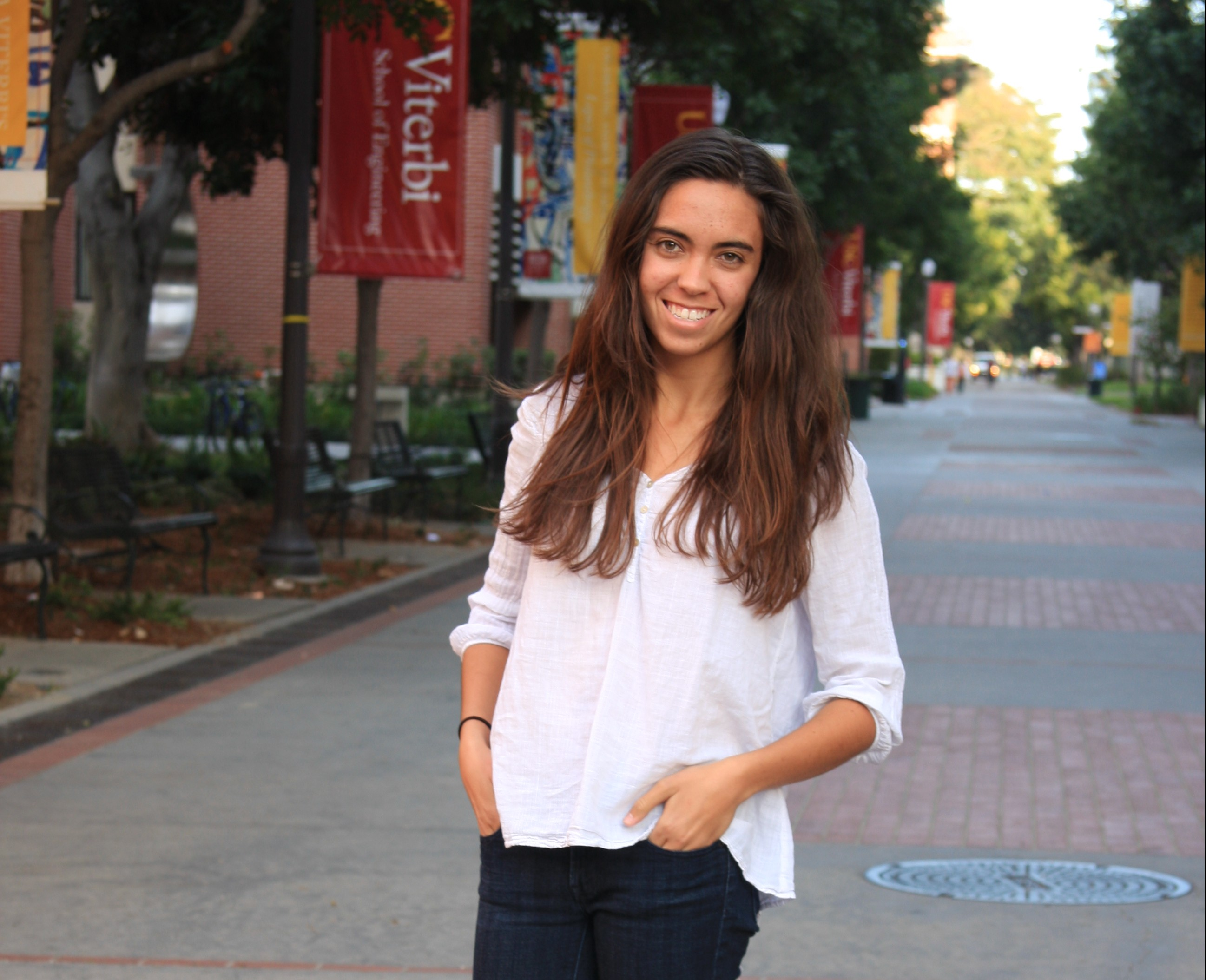 Madi Swayne, a 2011 San Clemente High School Grad, has earned bachelor's and master's degrees at USC and will continue on for a doctorate. Photo: Courtesy