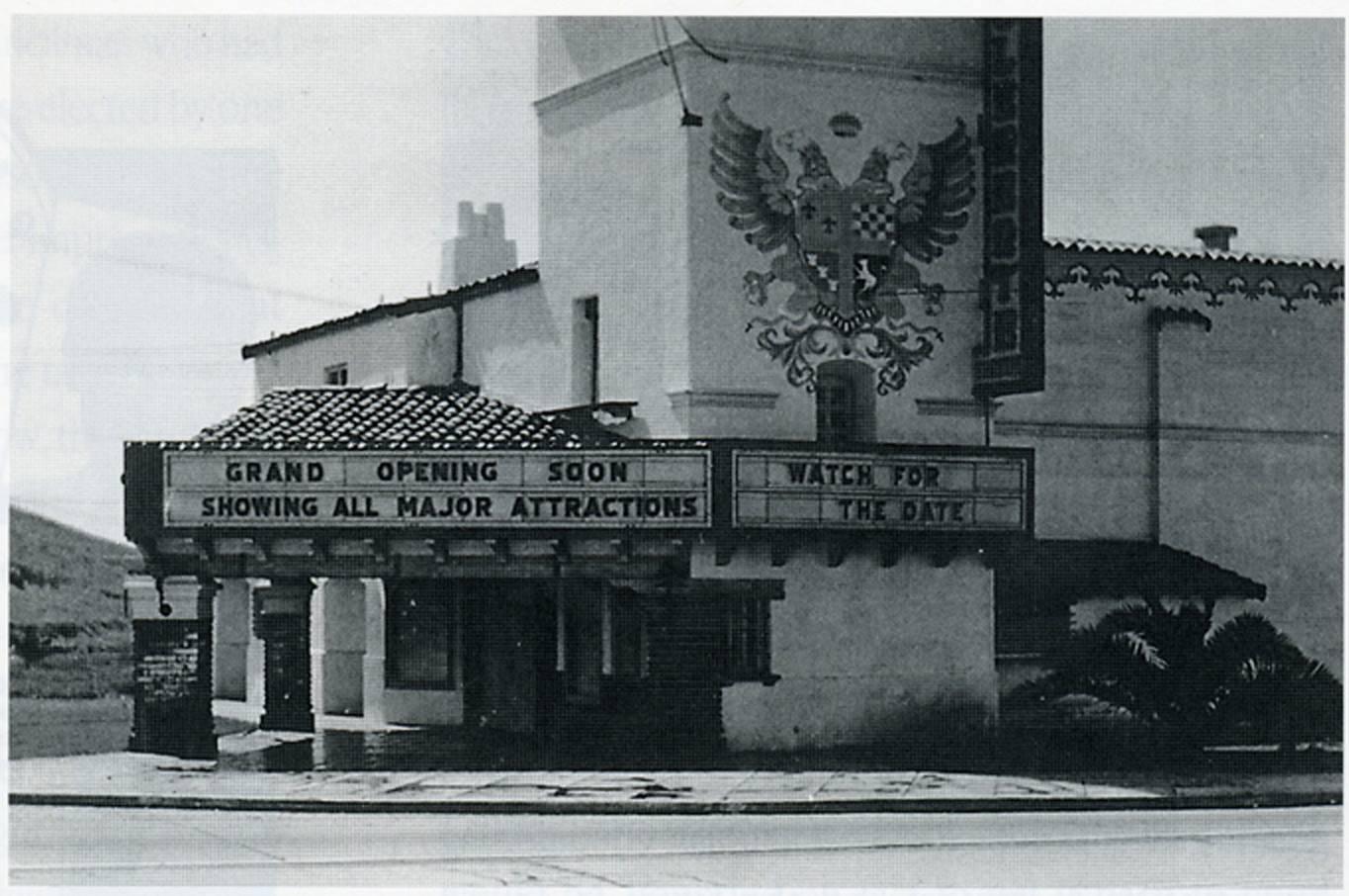 The Miramar Theater circa 1938. Photo: Courtesy