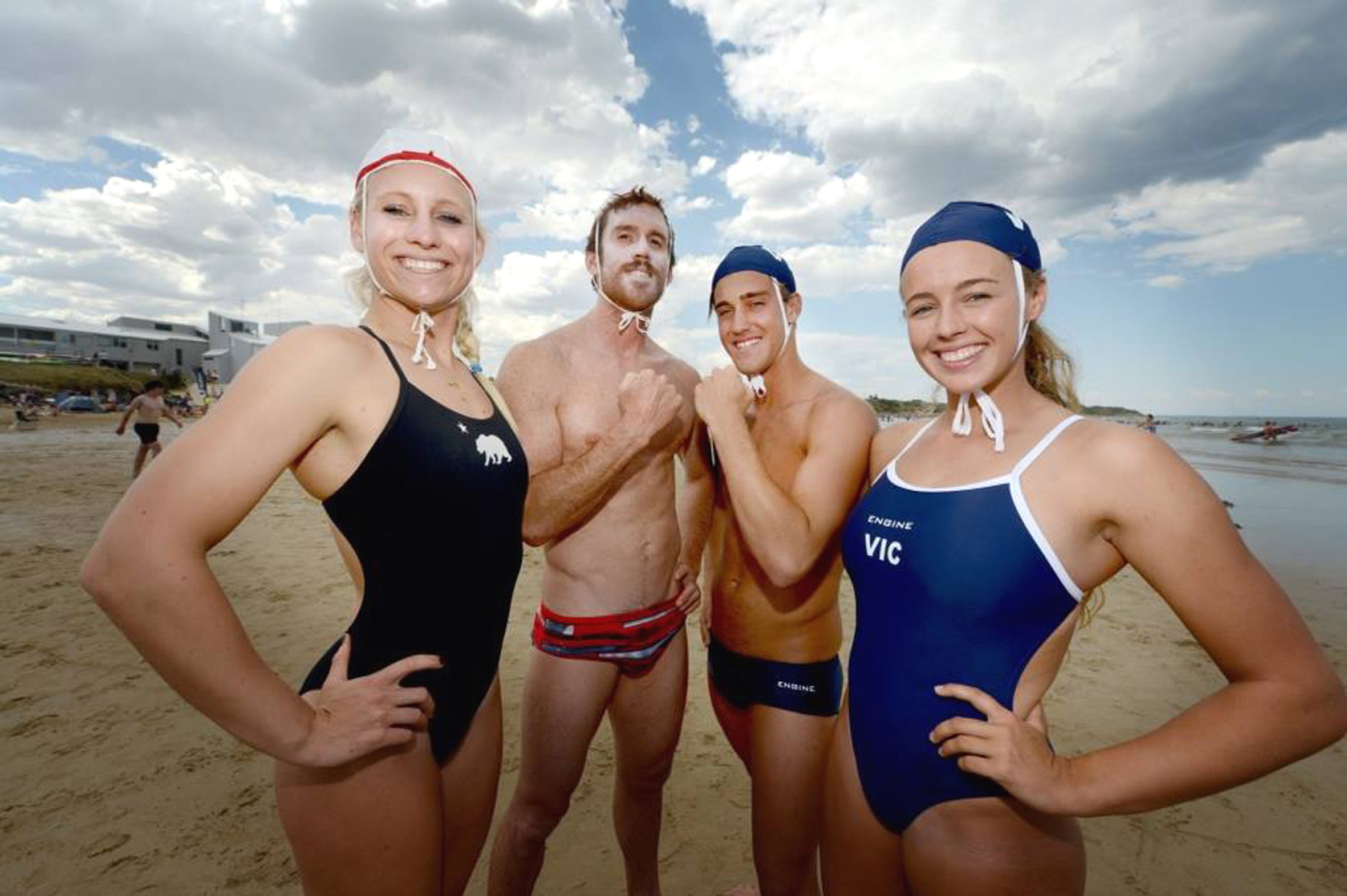 protectors of the shield aussie lifeguards head to ocean fest