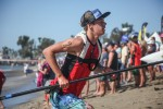Max Fleming, 16, placed eighth in the 6-mile Distance Junior Pro at Pacific Paddle Games, Oct. 10-11, Doheny State Beach. Photo: Alex Paris
