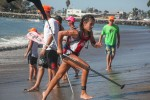 Karina Brown,12, at Pacific Paddle Games, Oct. 10-11, Doheny State Beach. Photo: Alex Paris