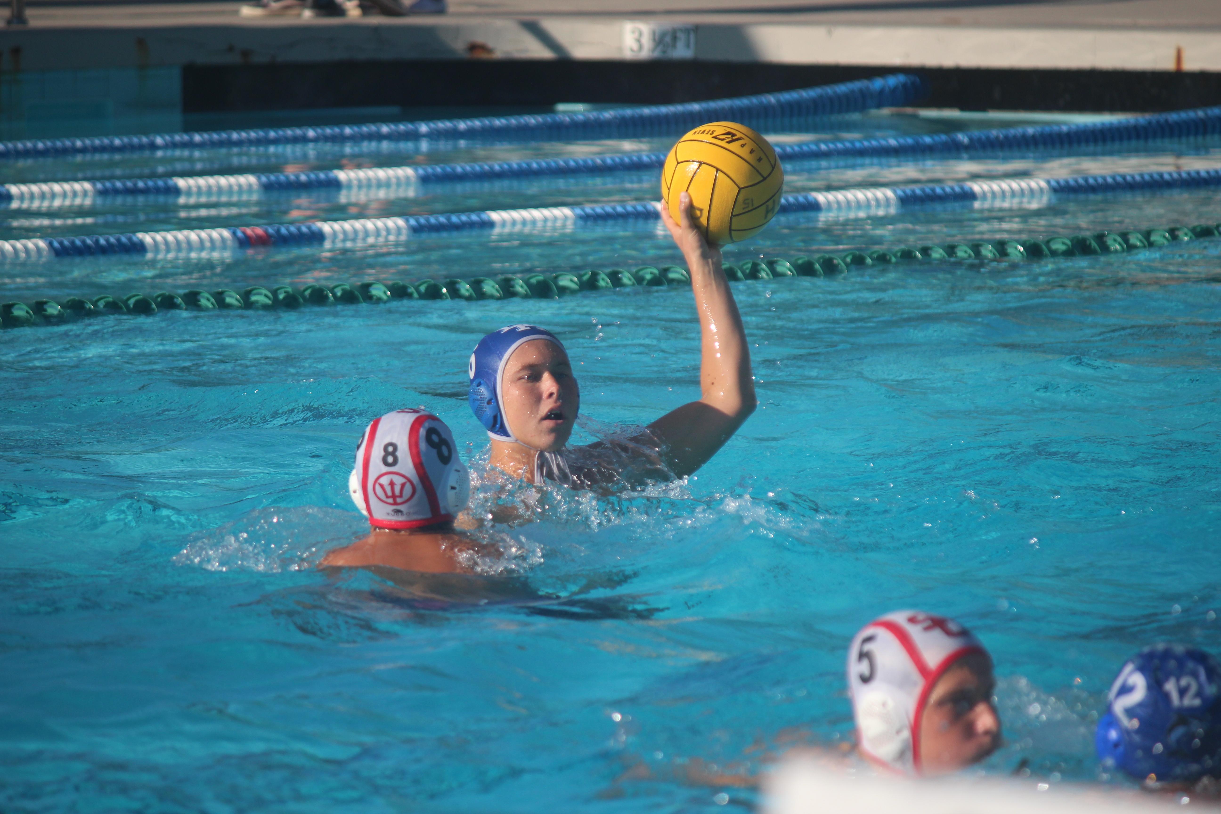 san clemente boys water polo team on oct 13 photo steve breazeale