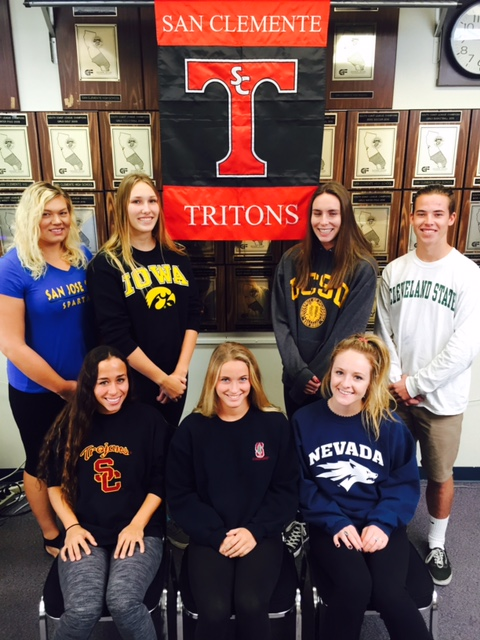 Signing Day: Tritons Ink National Letters Of Intent | San Clemente