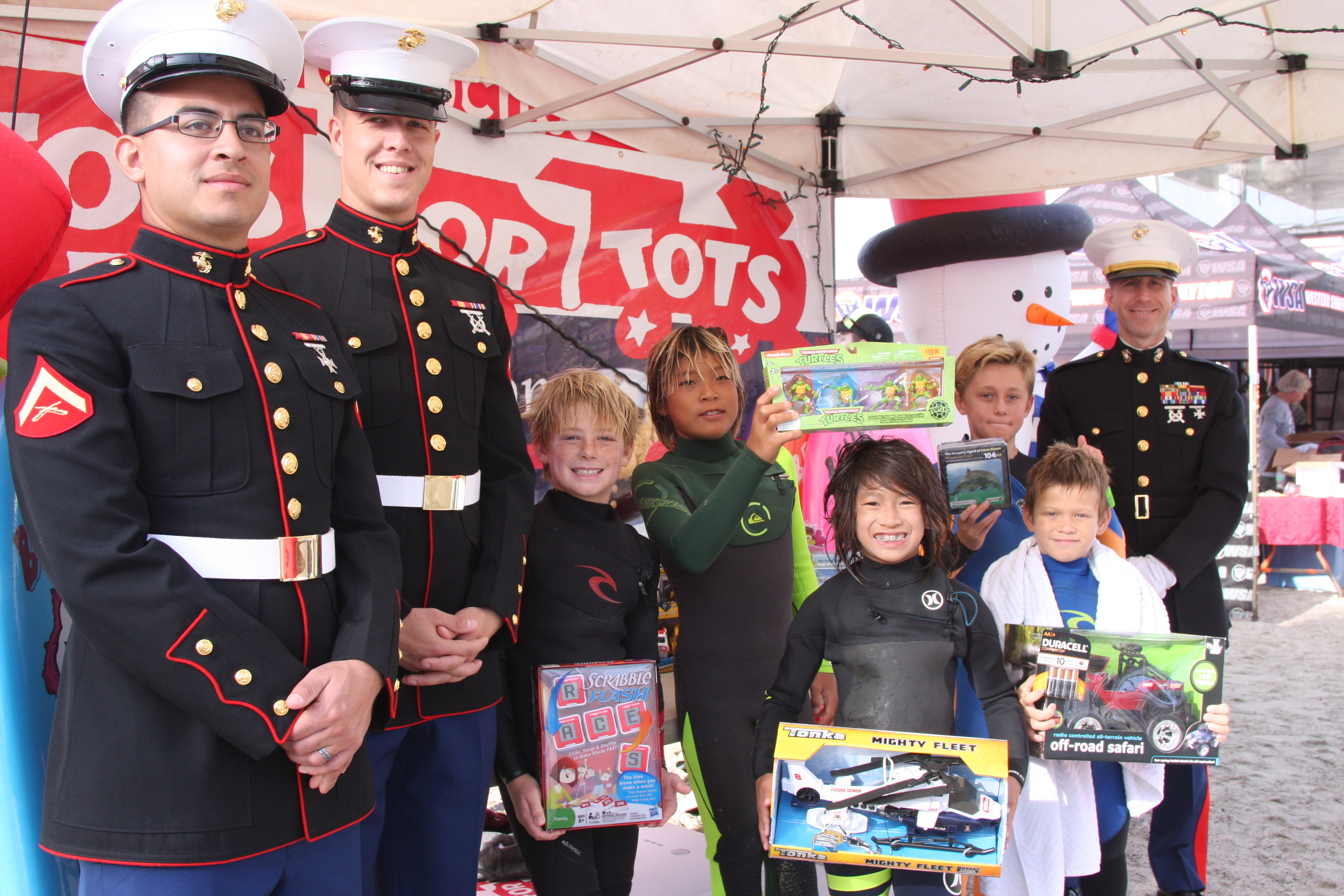 Toys For Tots Usmc : Surfing caring and sharing wsa to hold th annual toys