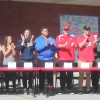 San Clemente student-athletes stand and applaud during a signing day ceremony on campus on Feb. 3.