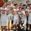The San Clemente boys basketball team captured the South Coast League title on Feb. 11. Photo: KDahlgren Photography
