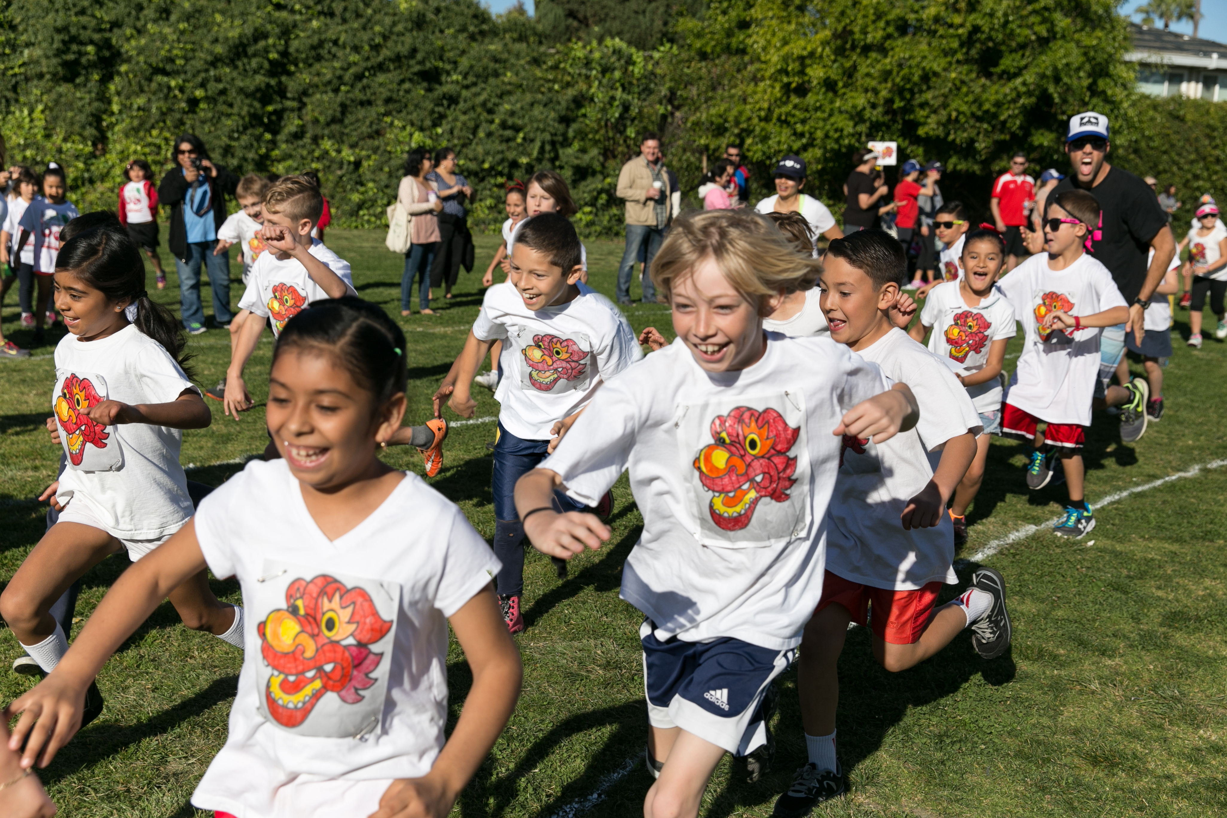 Students participate in last year's Jog-A-Thon.Photo: Courtesy of Rod Foster