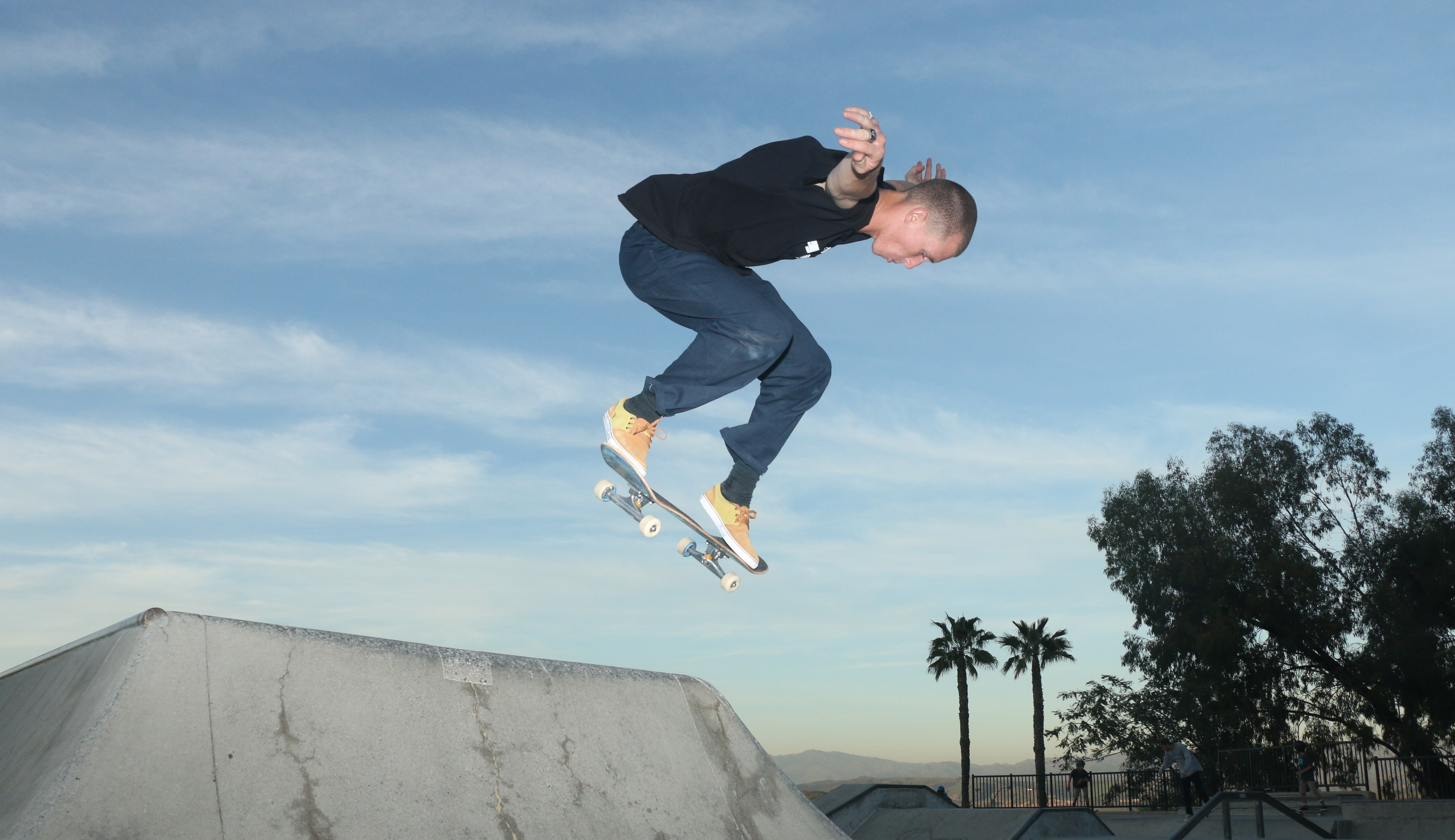 Adler Deardorff skateboards on Feb. 22 at the Ralphs Skate Court in San Clemente. Though in its infancy, the San Clemente Skate Park Coalition is looking for ways to expand the skatepark and install overhead lighting. Photo: Eric Heinz