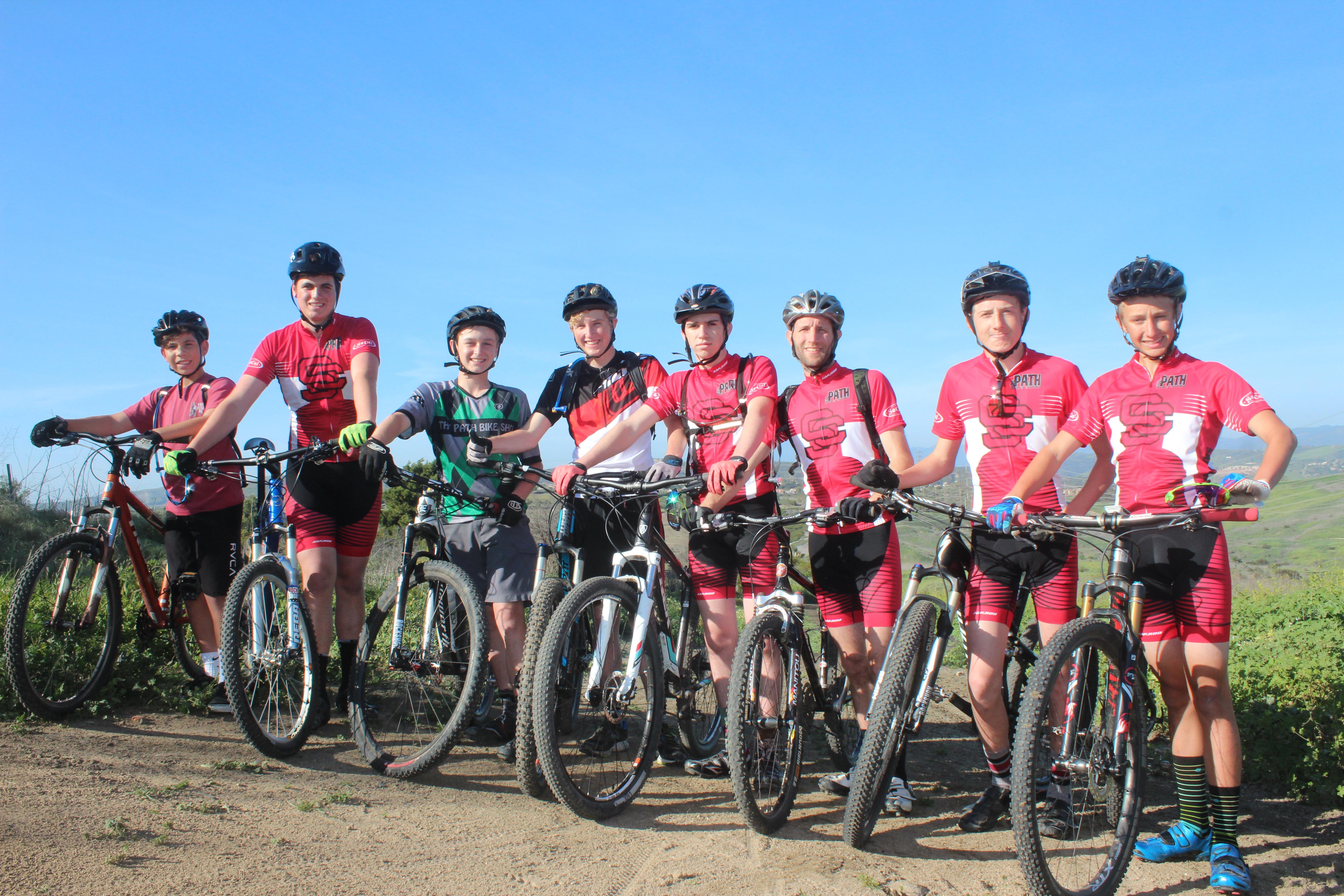 The San Clemente Mountain Bike Team began its inaugural season competing in the SoCal High School Cycling League in 2016. Photo: Steve Breazeale