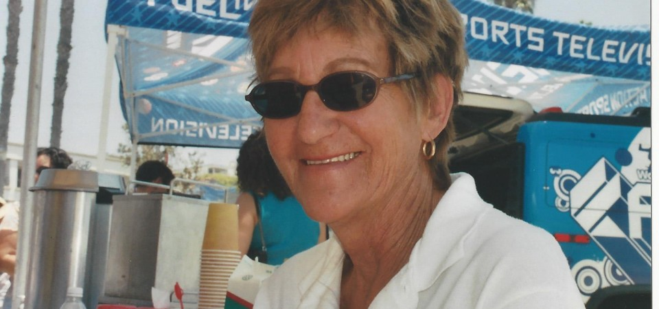 Mary Anna Anderson, 73, is seen at Ocean Festival in this circa 2006 photo. Anderson died March 31. Photo: Courtesy of the Anderson family.