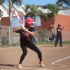 As of May 4, Sierra Garrett and the San Clemente softball team are 4-1 in Sea View League play and vying for the league title. Photo: Steve Breazeale