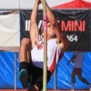 San Clemente's Sean Kelsay won the Sea View League pole vaulting championship for a second straight year. Photo: Rick Mueller