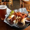 Bad to the Bone's Fire-Roasted Tri-Tip Sandwich. Photo: Matt Cortina