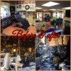 The before and after of Timless Ink, located at 3553 Camino Mira Costa in San Clemente. Photo graphic: Courtesy of