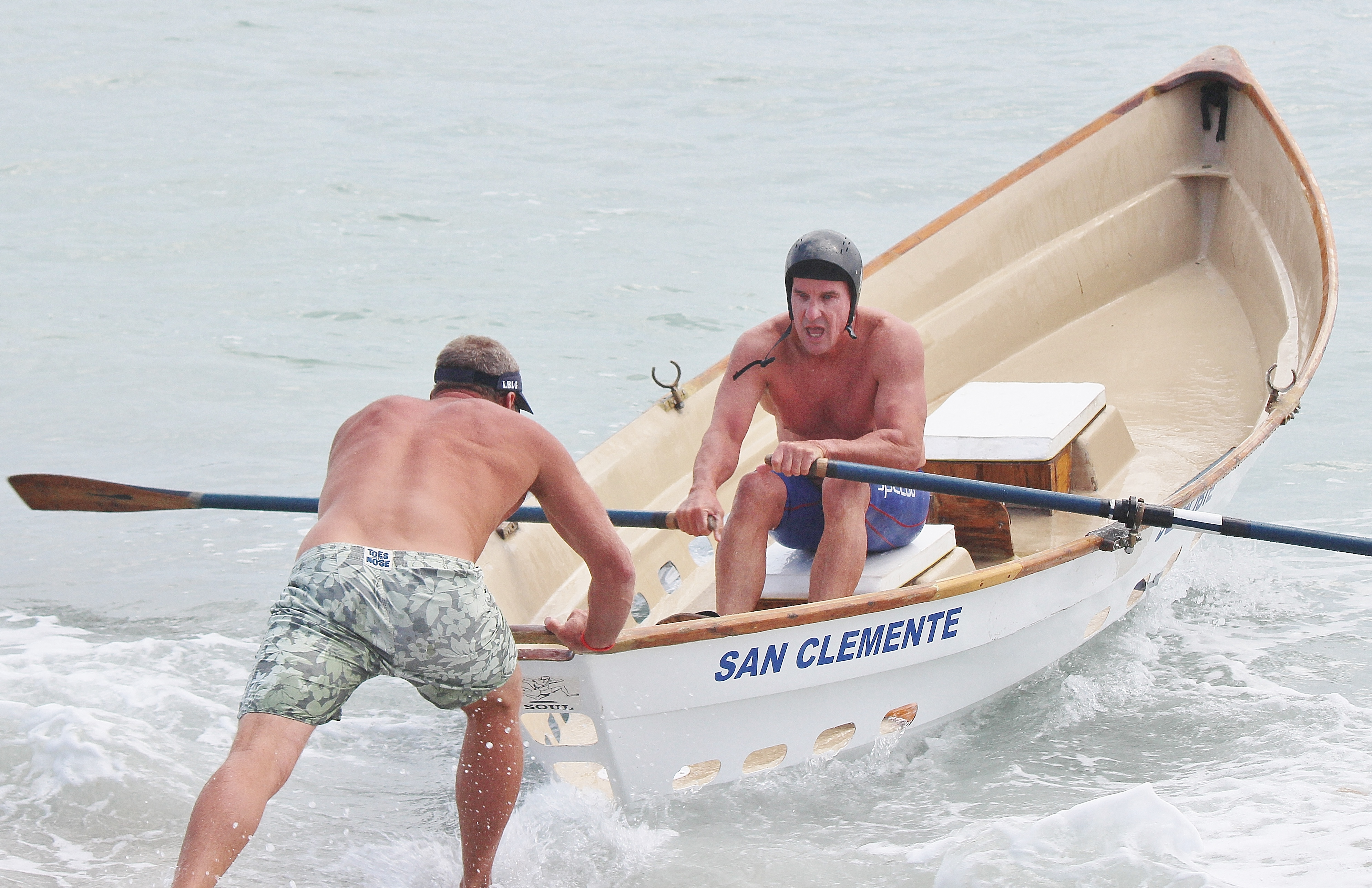 Mitch Kahn is a veteran of the San Clemente Ocean Festival's waterman contests. File photo