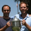 Brendan Thomas, left, and Mark Warman won the San Clemente Municipal Golf Course's Men's Club net and club championships, respectively. Photo: Courtesy