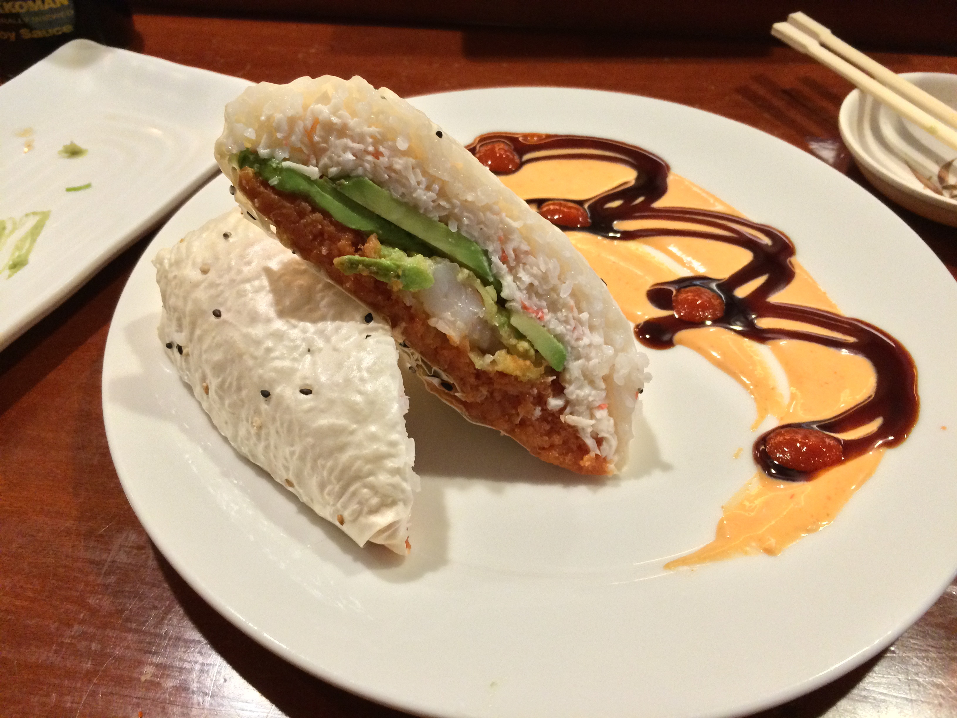 Sushi Burrito. Photo: Matt Cortina