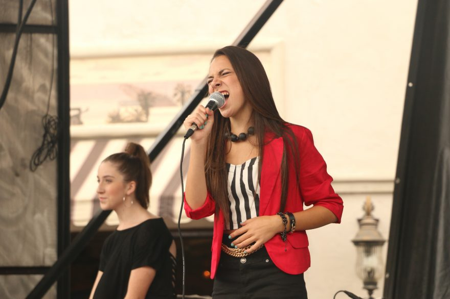 Calista Quinn, who performed at last year's Fiesta Music Festival, will return to the stage at this year's Fiesta. Photo: File