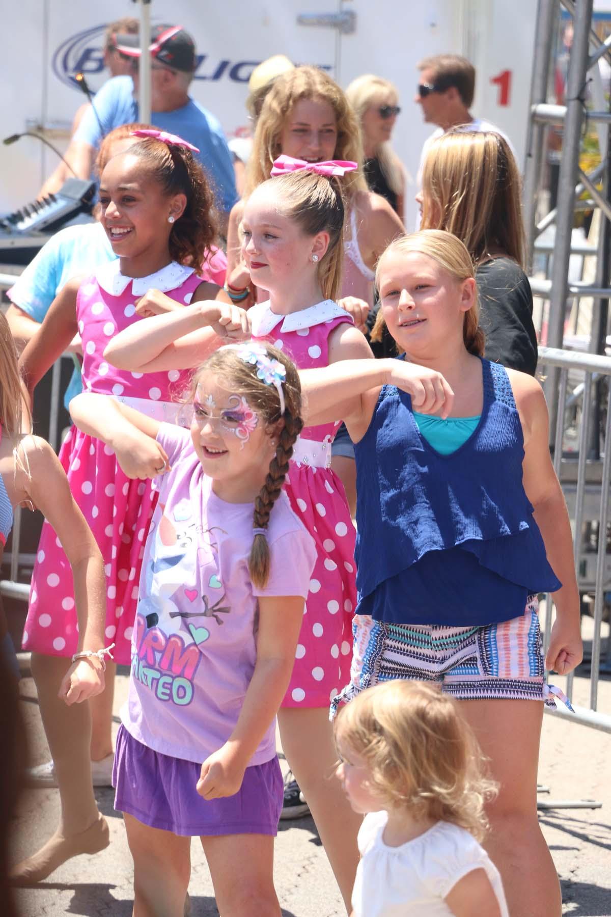 Dozens of children participated in the dance clincs at last year's Fiesta Music Festival. Photo: File