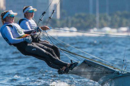 49er FX USA Paris Henken USAPH79 Helena Scutt USAHS38  2016 Olympic Games  Rio de Janeiro