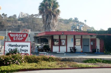 Burger Stop, located at 524 E. Avenida Pico, is slated to close Tuesday, Aug. 30, to make room for right-of-ways for the Avenida Pico I-5 expansion project. Photo: Eric Heinz