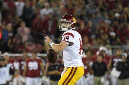 Sam Darnold will start at quarterback for USC on Sept. 23. Photo: John McGillen