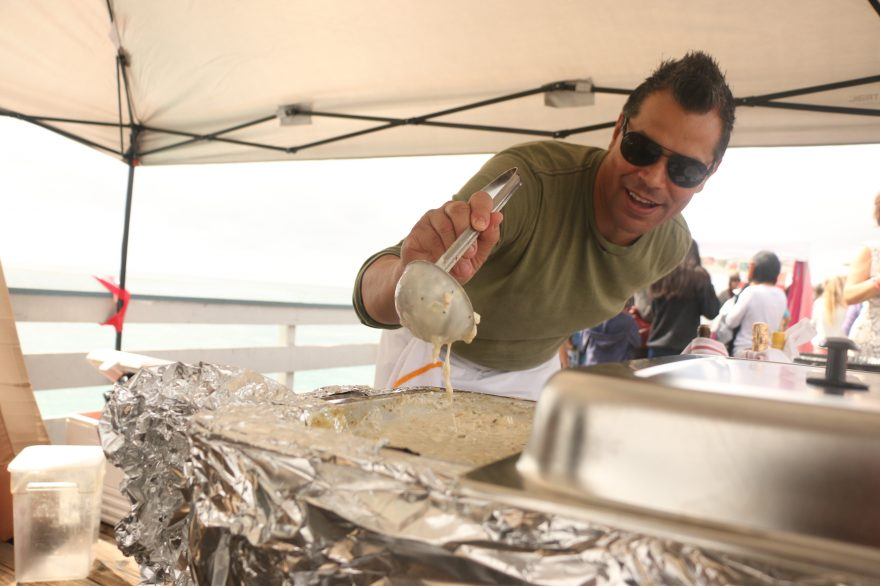 The SeaFest clam chowder cook-off is one of the city's most popular fall events. SeaFest takes place Sunday, Oct. 2, from 8 a.m.-3 p.m. at San Clemente Pier. Photo: File